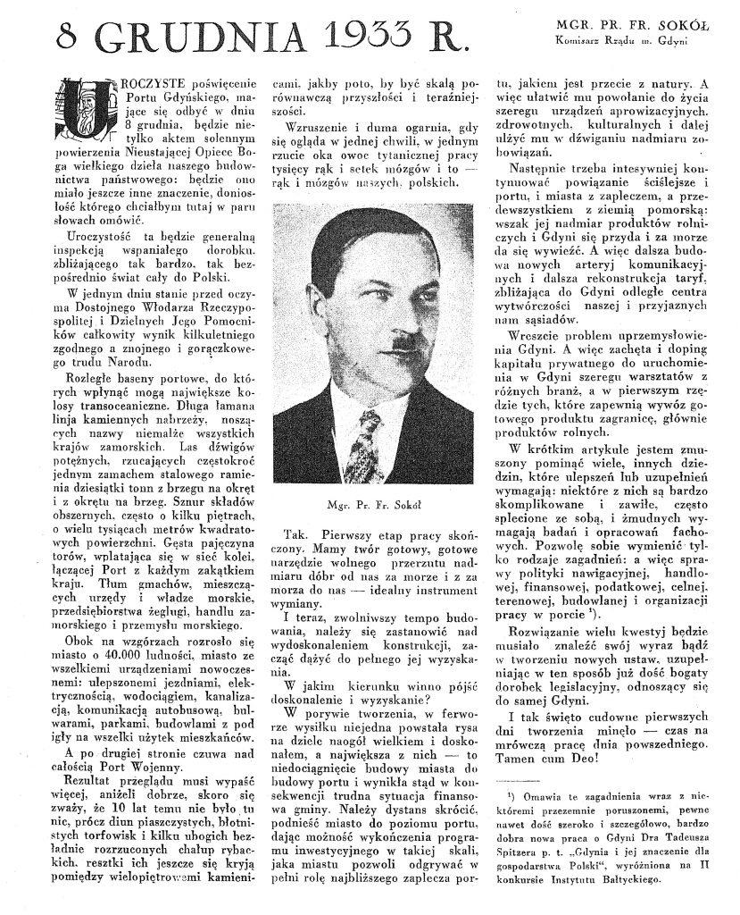 8 grudnia 1933 r.