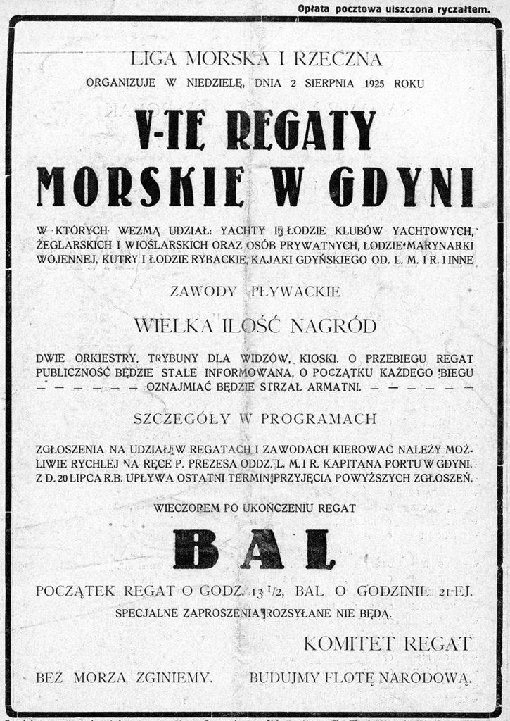 V-te Regaty Morskie w Gdyni