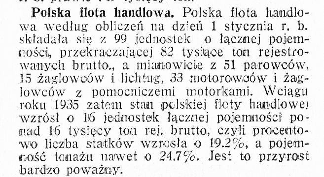 Polska flota handlowa