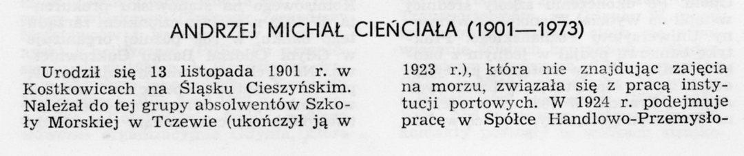 Andrzej Michał Cieńciała