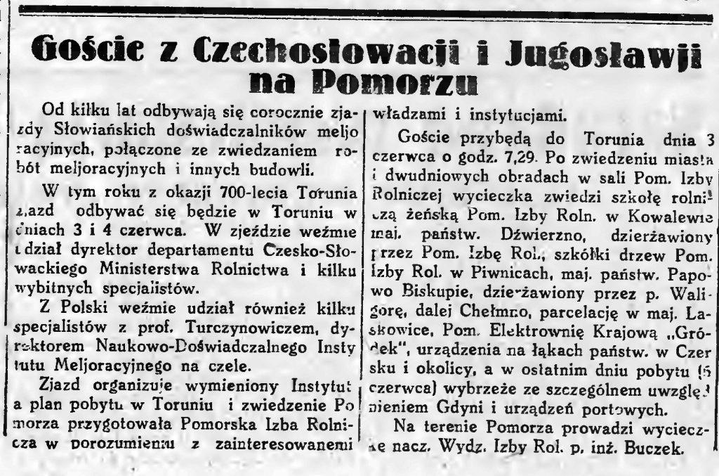 Czechosłowacy na Pomorzu