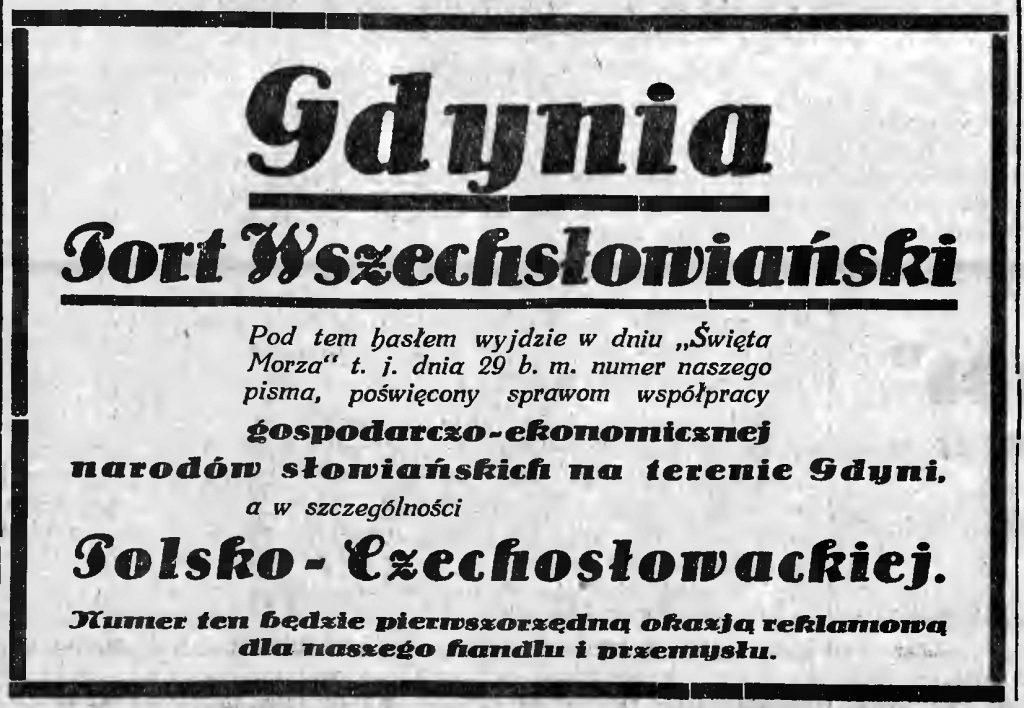 Gdynia Port Wszechsłowiański