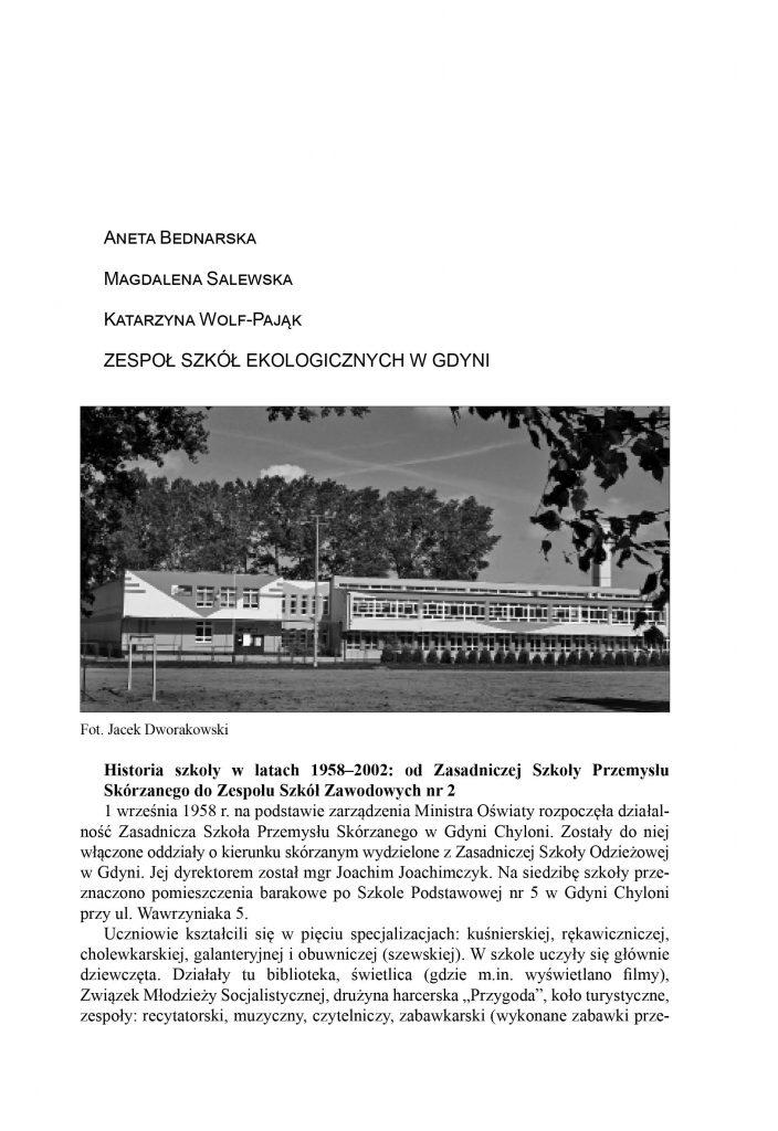Zespół Szkół Ekologicznych w Gdyni