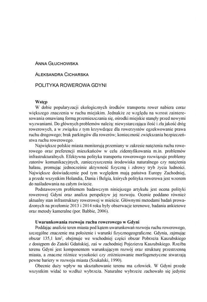 Polityka rowerowa Gdyni