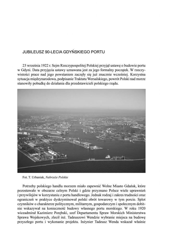 Jubileusz 90-lecia gdyńskiego portu