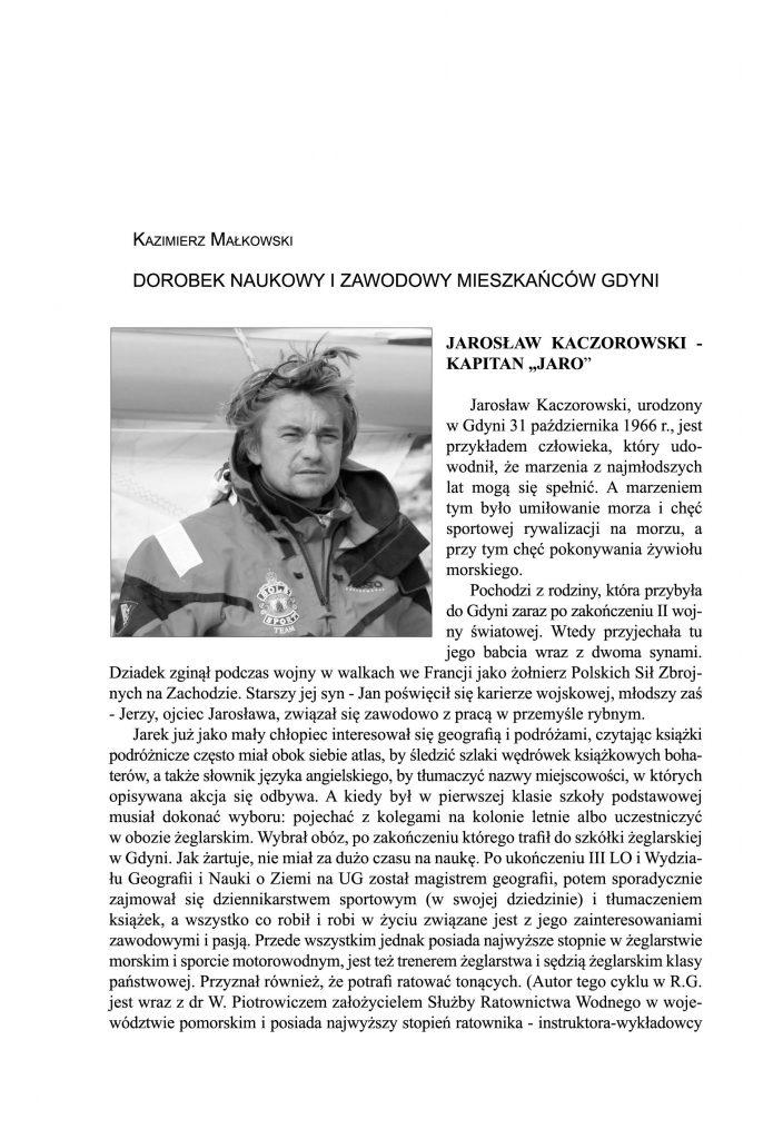 Dorobek naukowy i zawodowy mieszkańców Gdyni