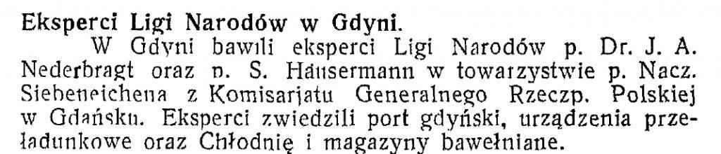 Eksperci Ligi Narodów w Gdyni