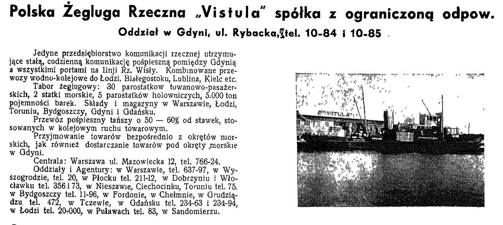 Polska Żegluga Rzeczna Vistula