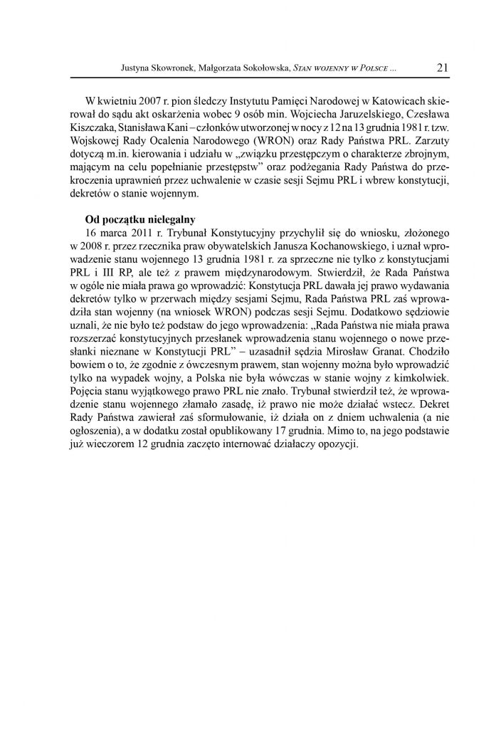 Stan Wojenny w Polsce (13.12.1981-22.07.1983)