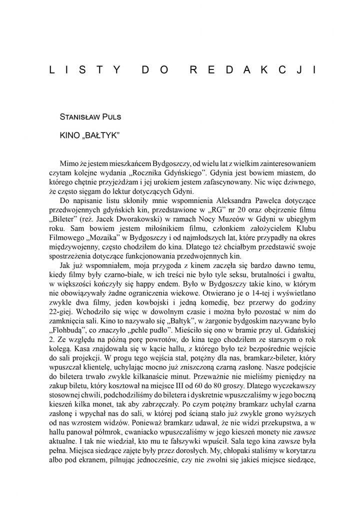 "Kino ""Bałtyk"""