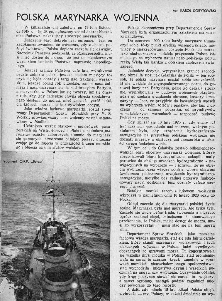 Polska Marynarka Wojenna 1