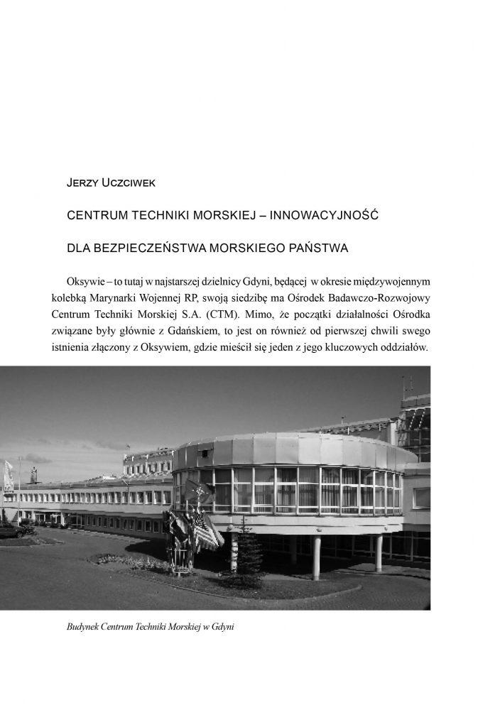 Centrum Techniki Morskiej - innowacyjność dla bezpieczeństwa państwa