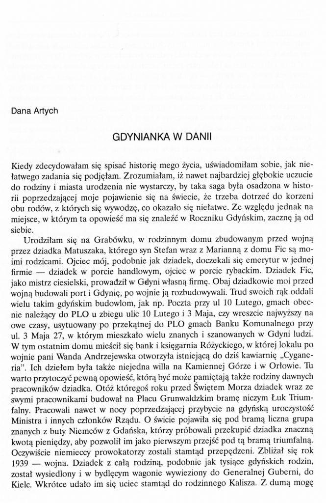 Gdynianka z Danii