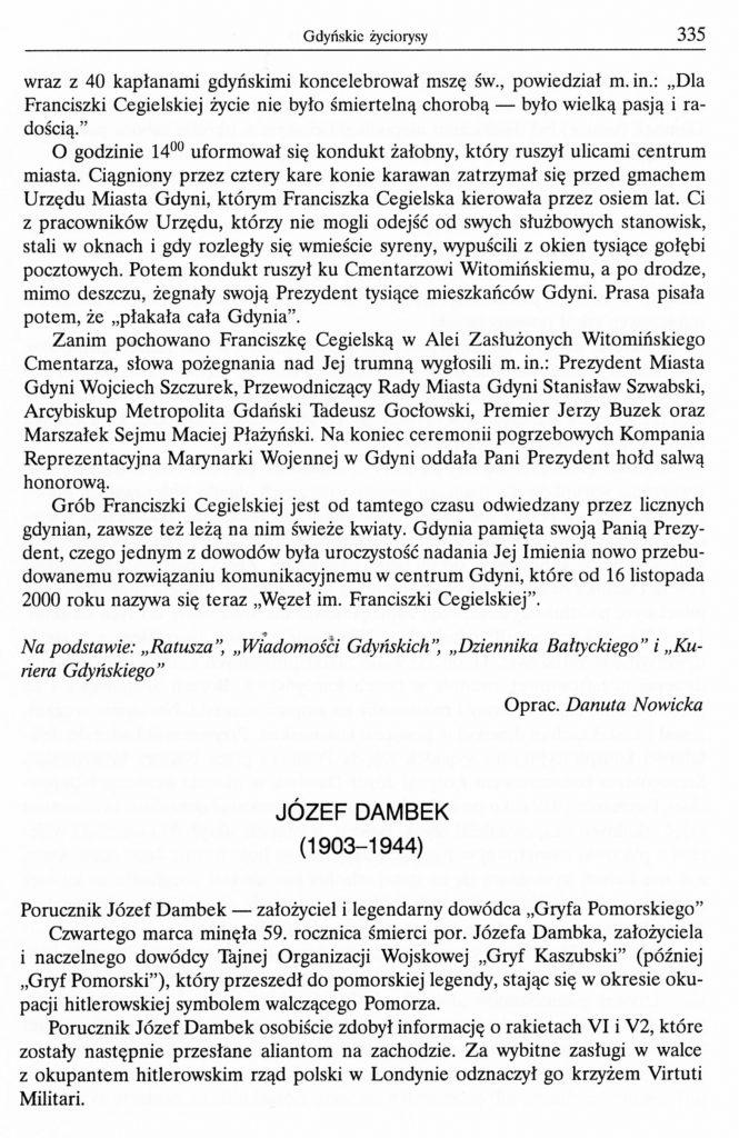 Józef Dambek (1903-1944)