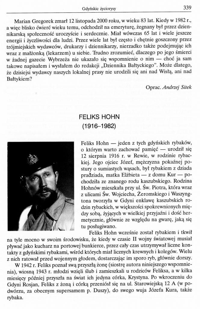 Feliks Hohn (1916-1982)