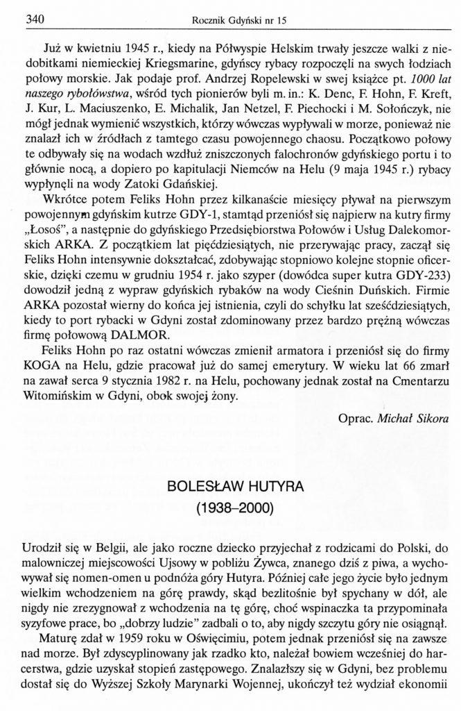 Bolesław Hutyra (1938-2000)