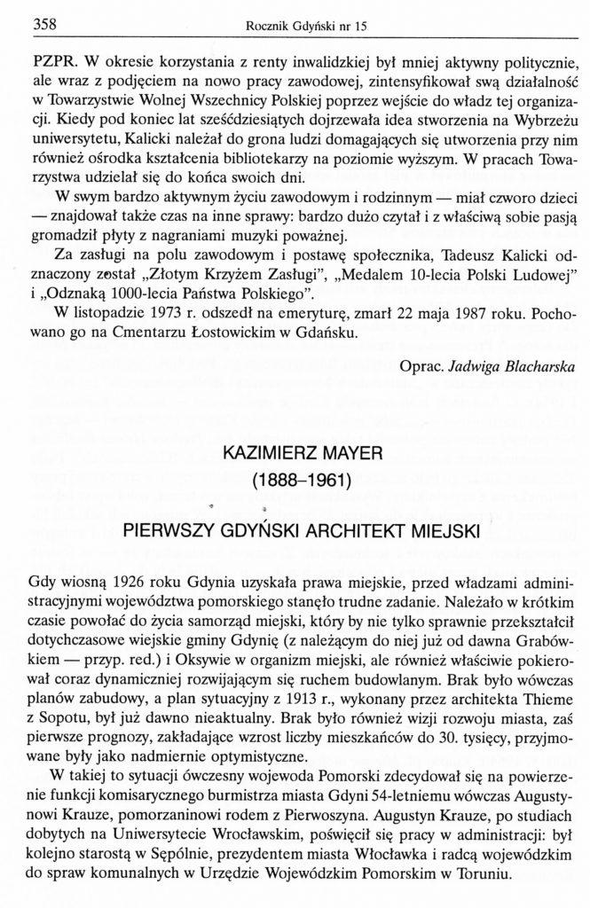 Kazimierz Mayer (1888-1961)
