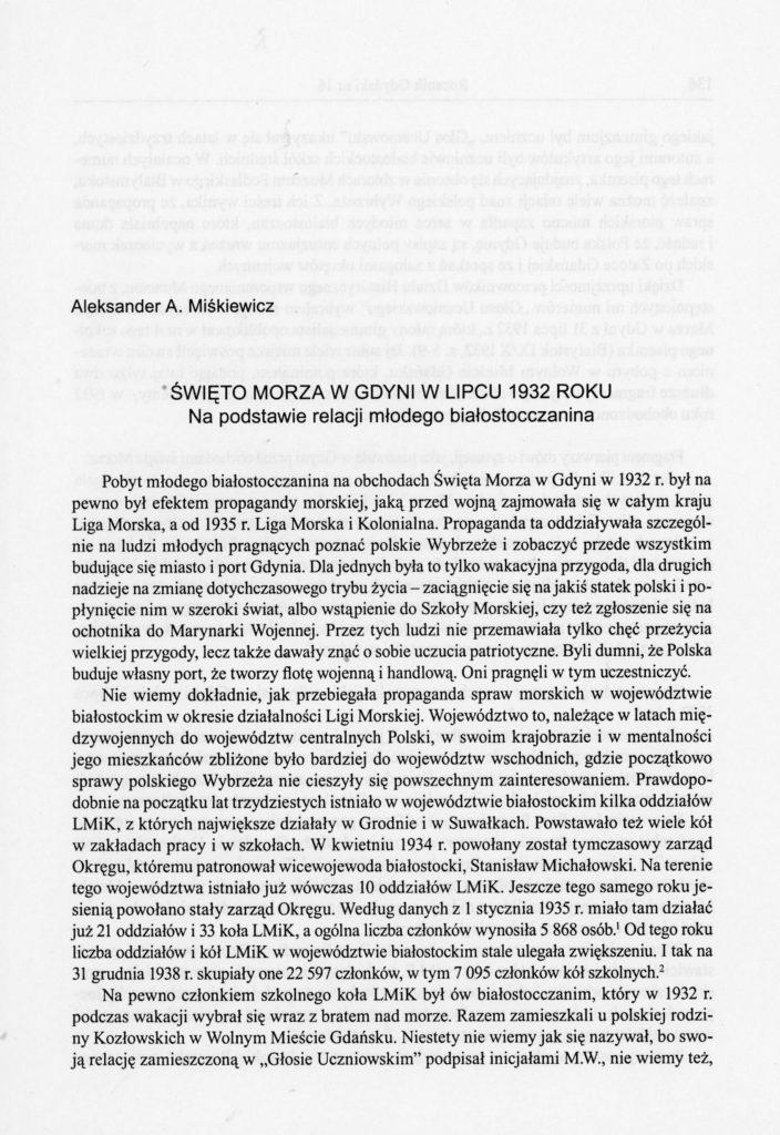 """""""Święto Morza"""" w Gdyni w lipcu 1932 roku"""