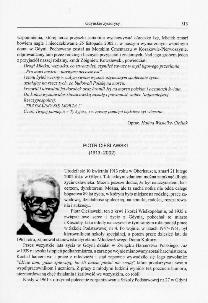 Piotr Cieślawski (1913-2002)