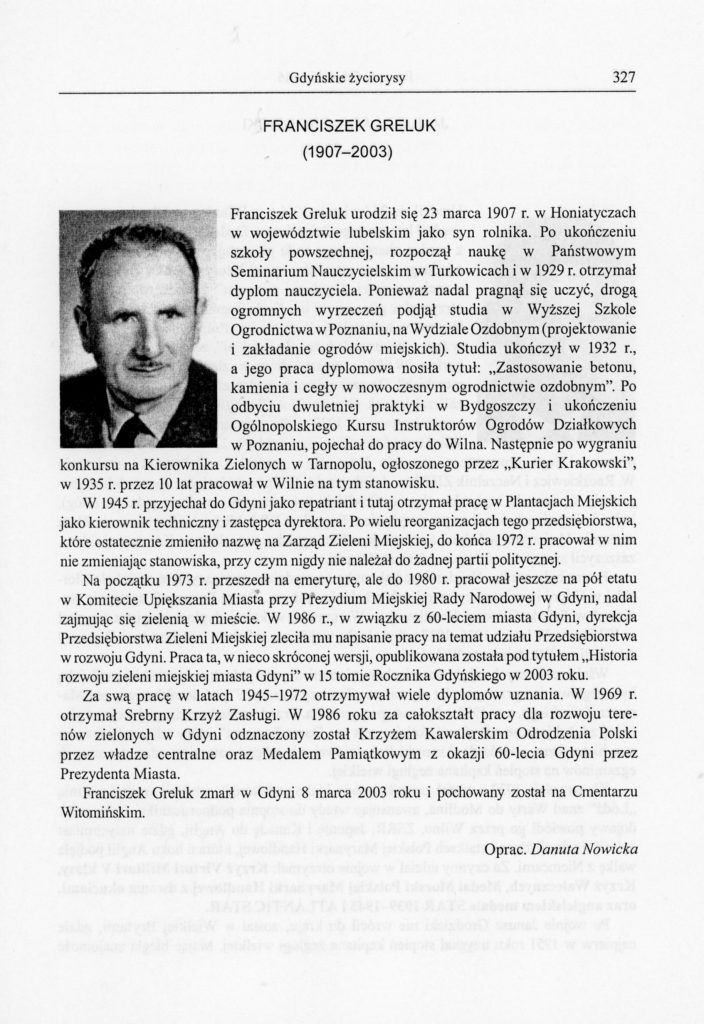 Franciszek Greluk (1907-2003)