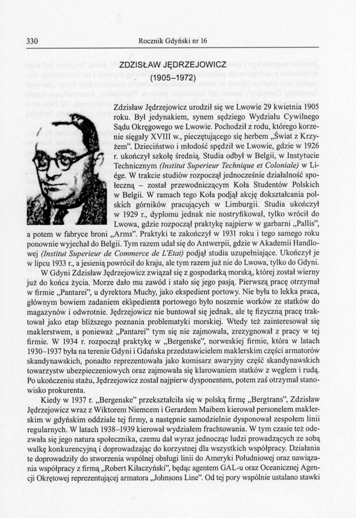Zdzisław Jędrzejowicz (1905-1972)