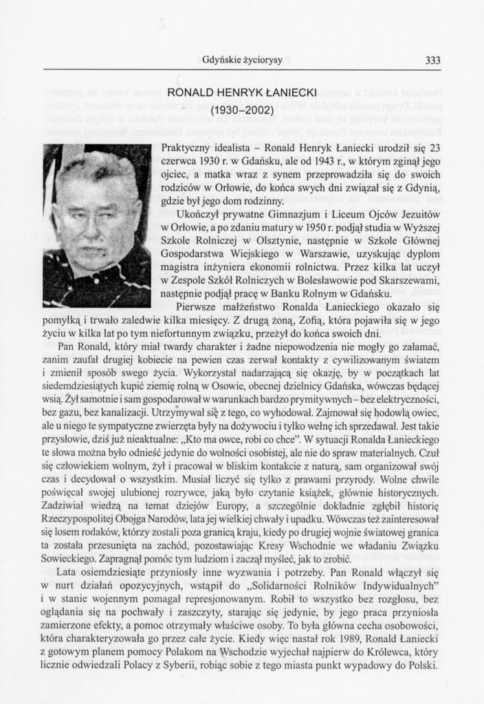 Ronald Henryk Łaniecki (1930-2002)