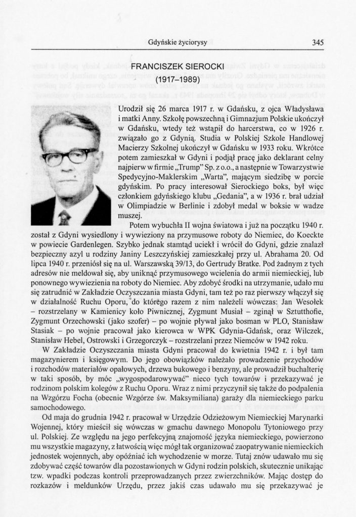 Franciszek SIerocki (1917-1989)