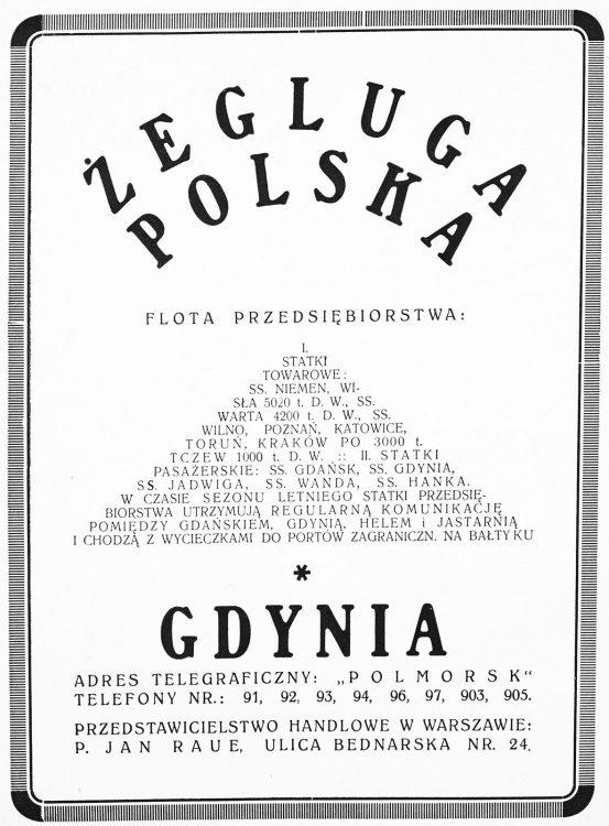 Żegluga Polska Gdynia