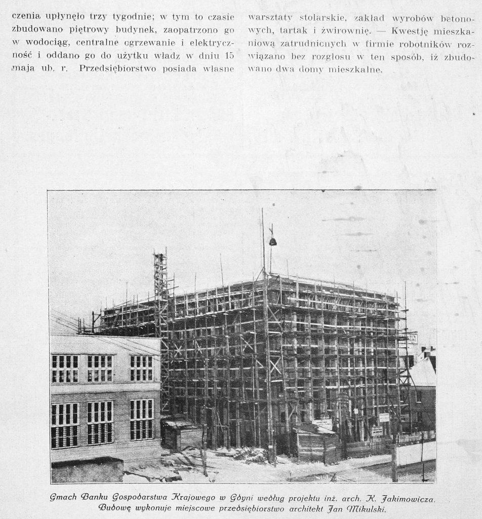 Przedsiębiorstwo Budowlane J. Mikulski, Gdynia Szosa Gdańska