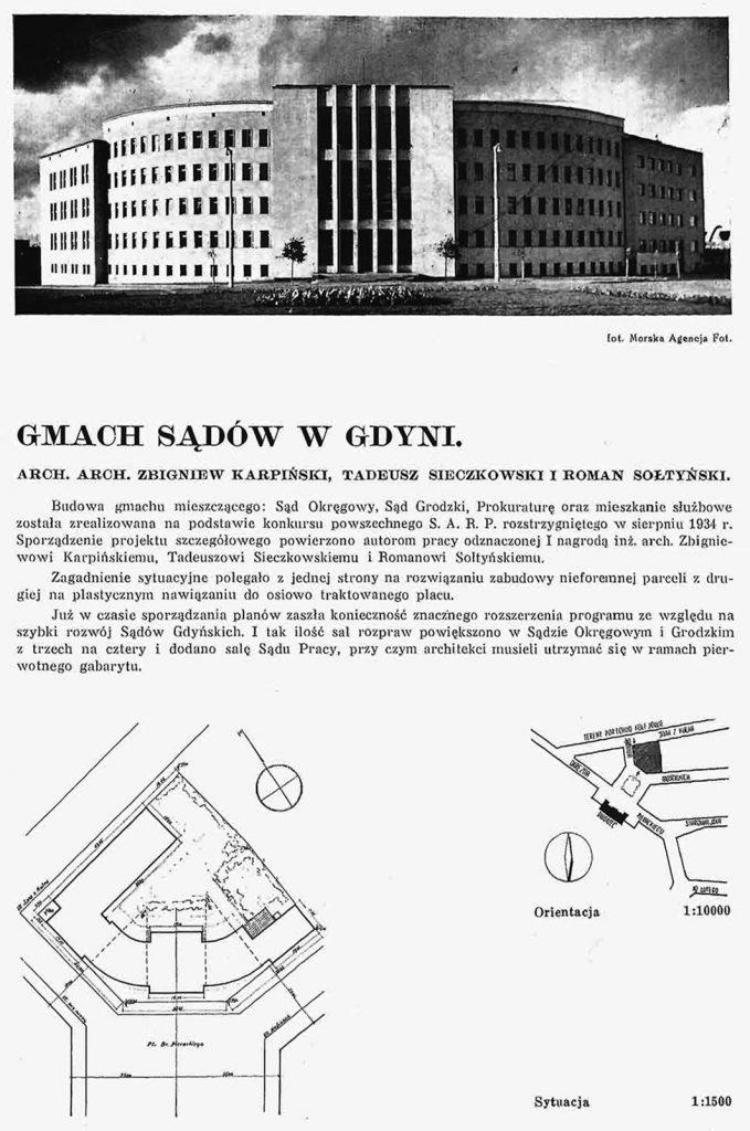 Gmach Sądów w Gdyni