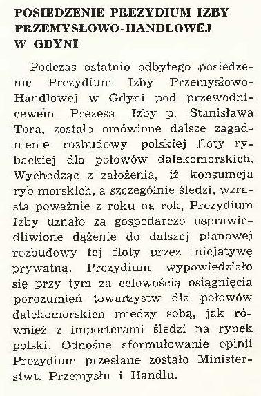 Posiedzenie prezydium Izby Przemysłowo-Handlowej w Gdyni