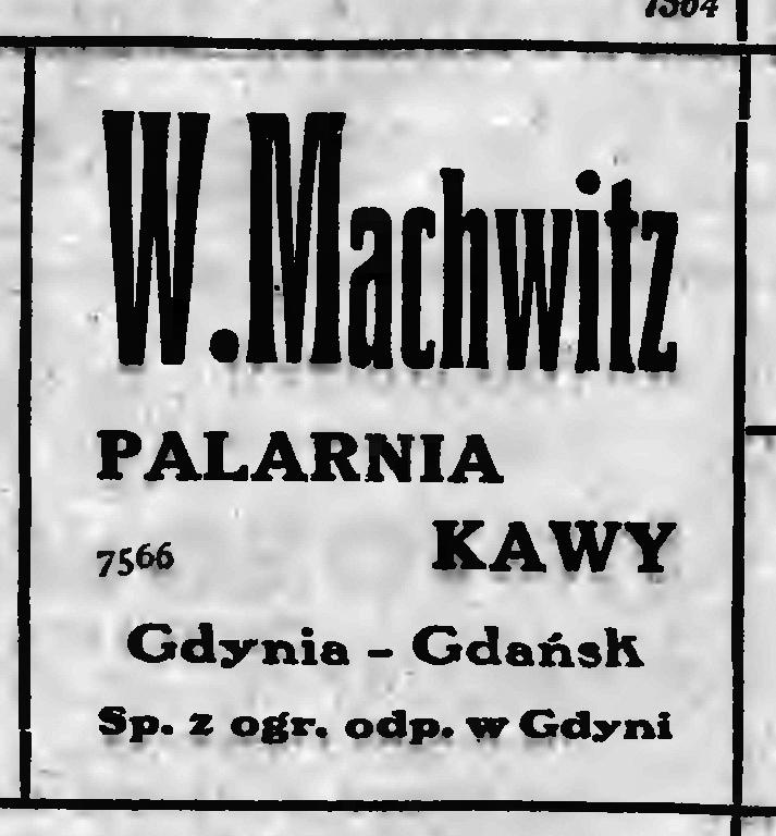W. Machwitz palarnia kawy