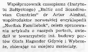 Współredaktor norweskiej encyklopedii odwiedził Gdynię