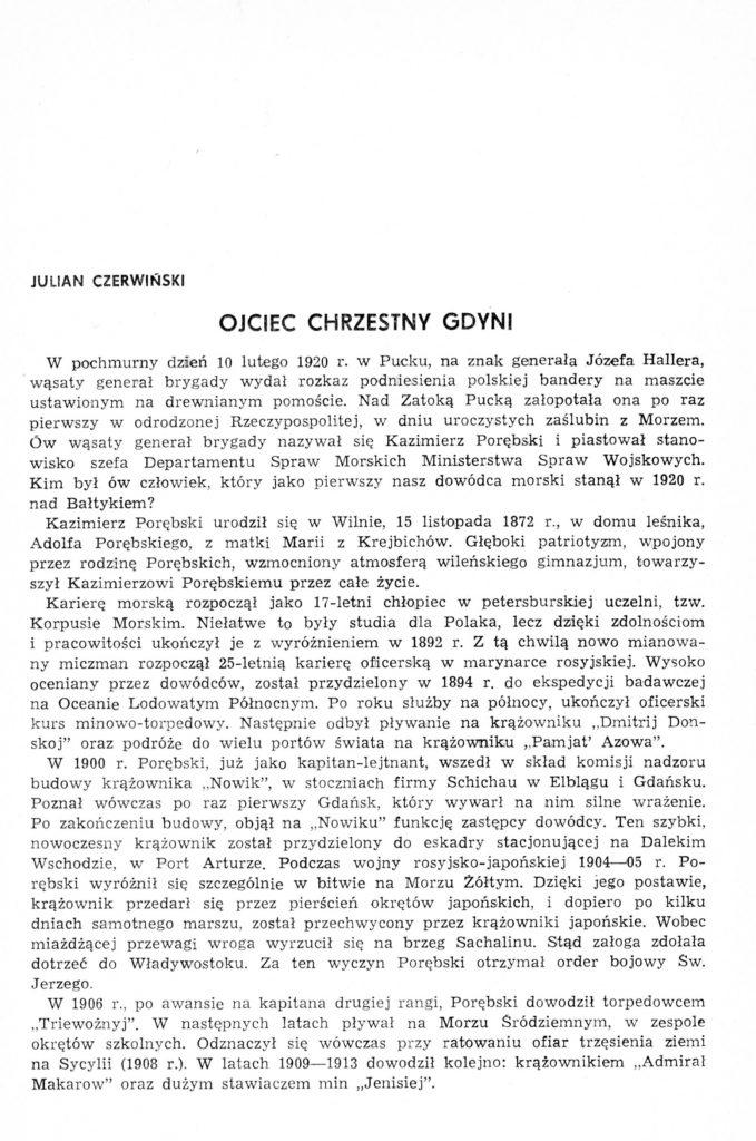 Ojciec chrzestny Gdyni