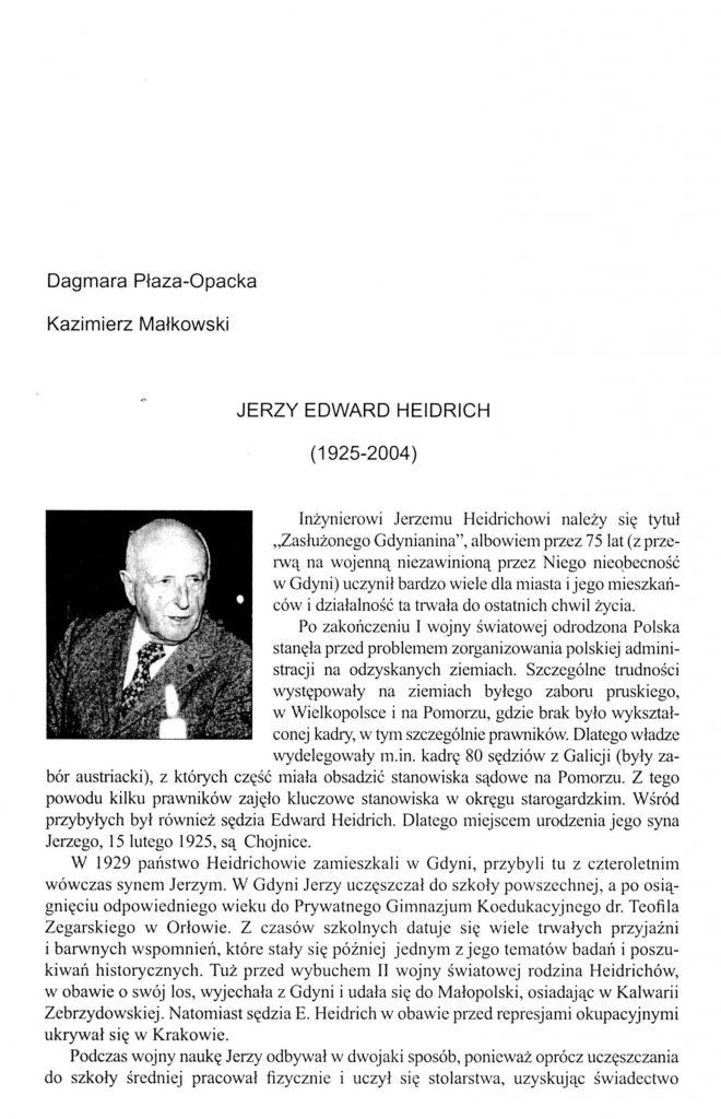 Jerzy Edward Heidrich (1925-2004)