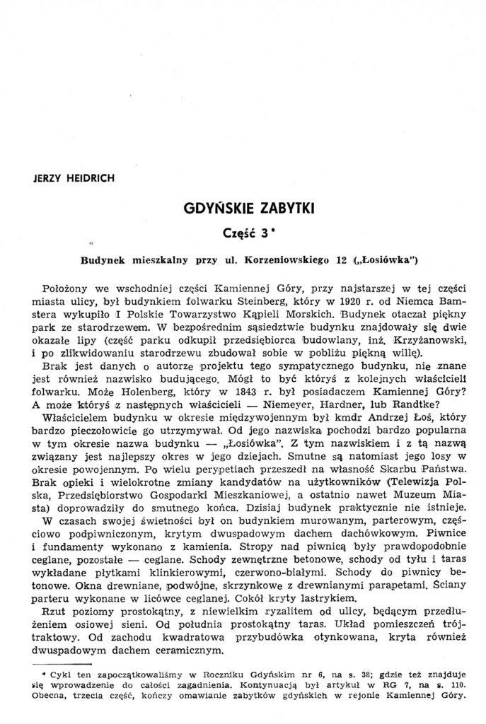 Gdyńskie zabytki: część 3