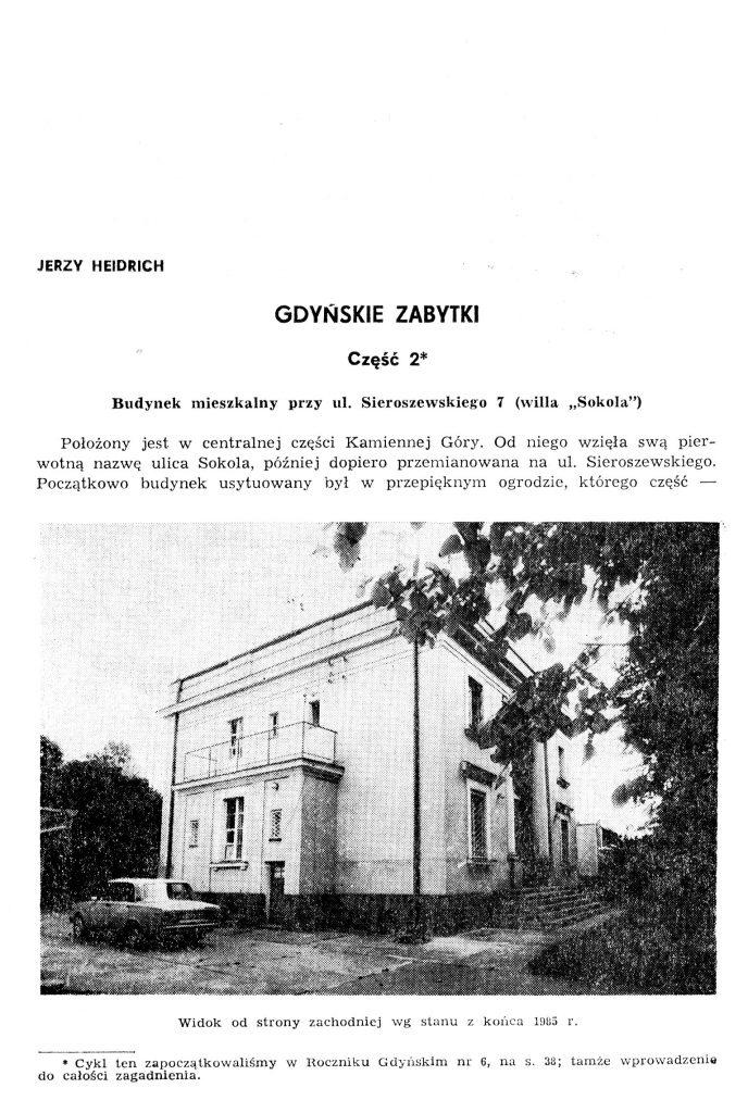 Gdyńskie zabytki: część 2