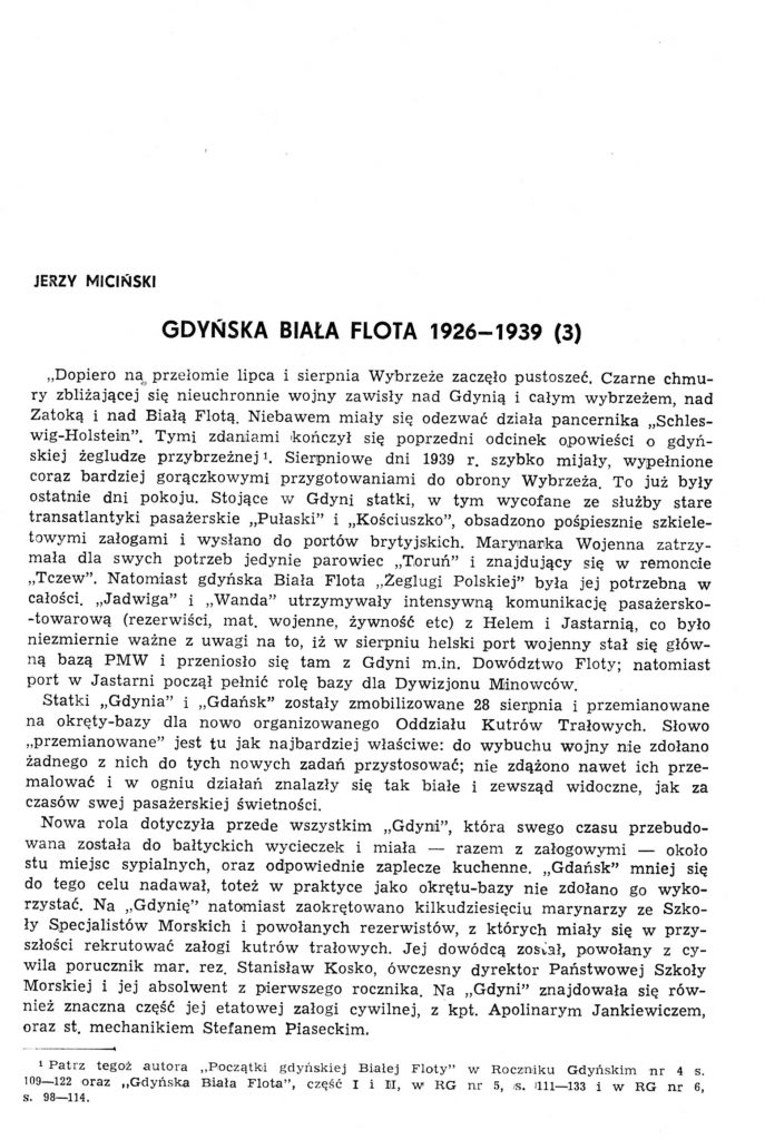 Gdyńska biała flota 11926-1939 (3)