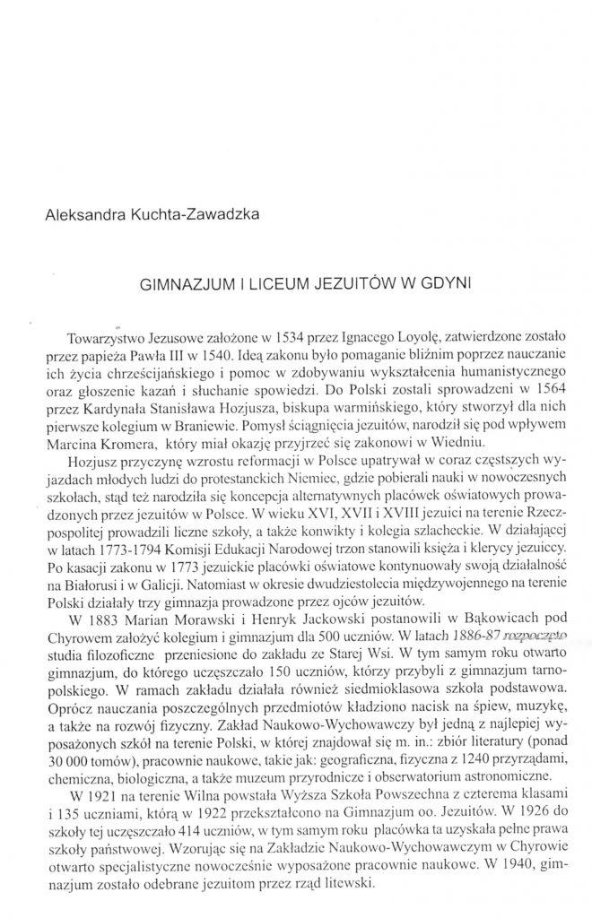 Gimnazjum i Liceum Jezuitów w Gdyni