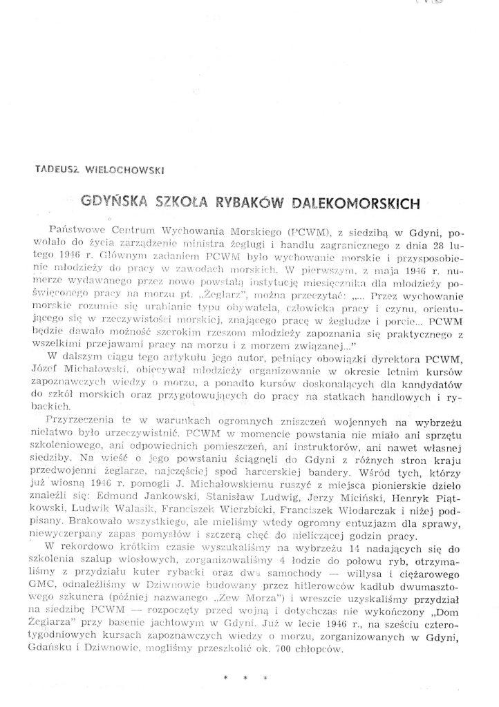 Gdyńska Szkoła Rybaków Dalekomorskich