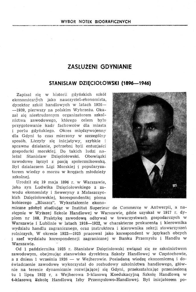 Dzięciołowski Stanisław (1896-1956)