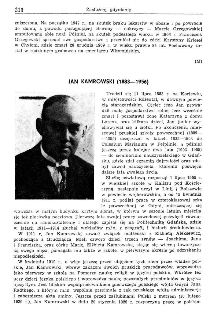 Kamrowski Jan (1883-1956)