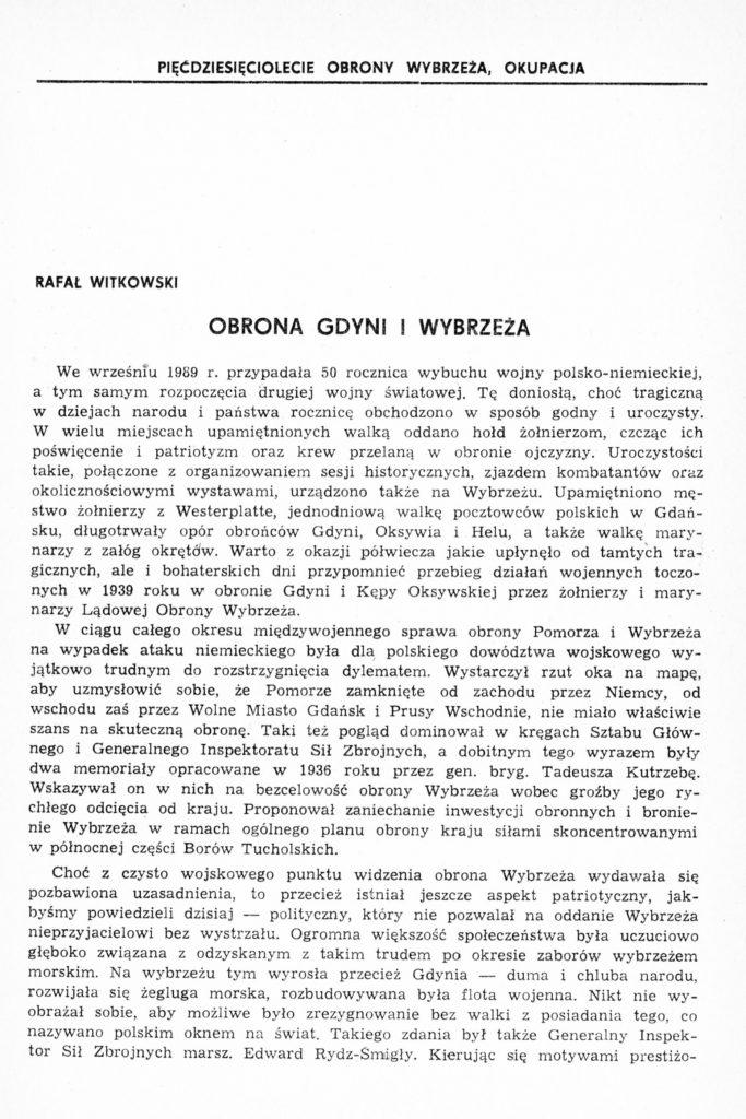 Obrona Gdyni i Wybrzeża