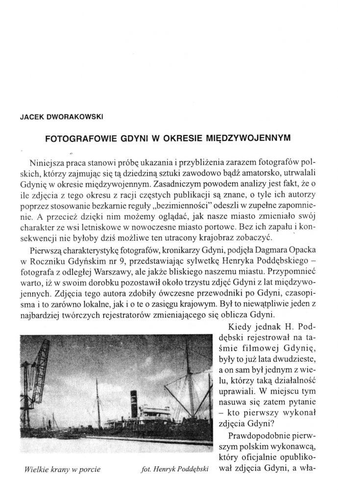 Fotografowie Gdyni w okresie międzywojennym