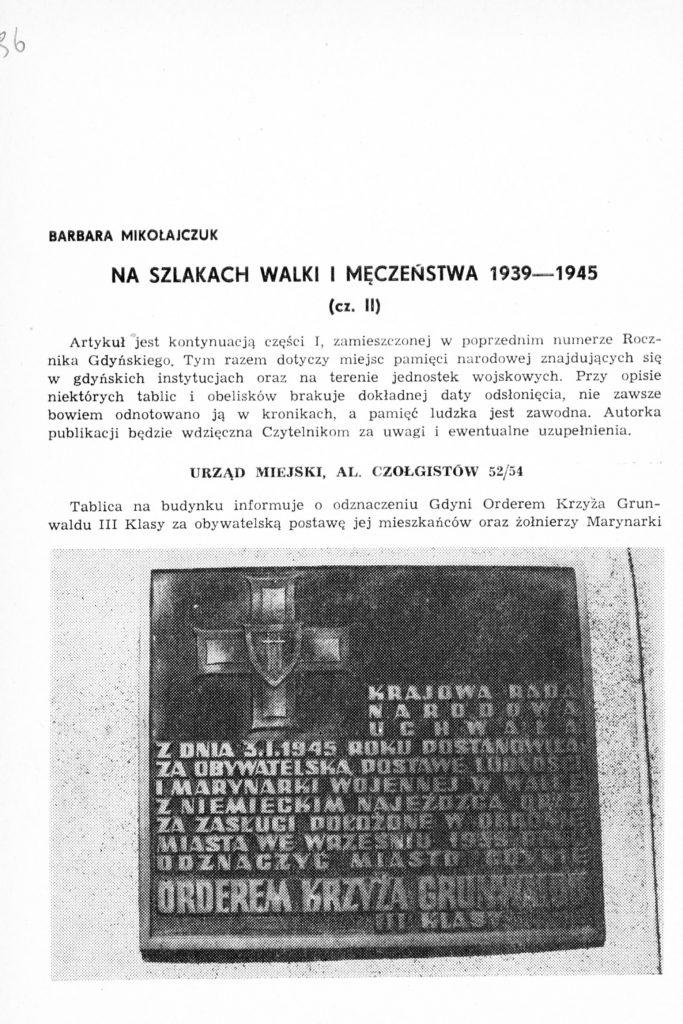 Na szlakach walki i męczeństwa 1939-1945 (cz. II)