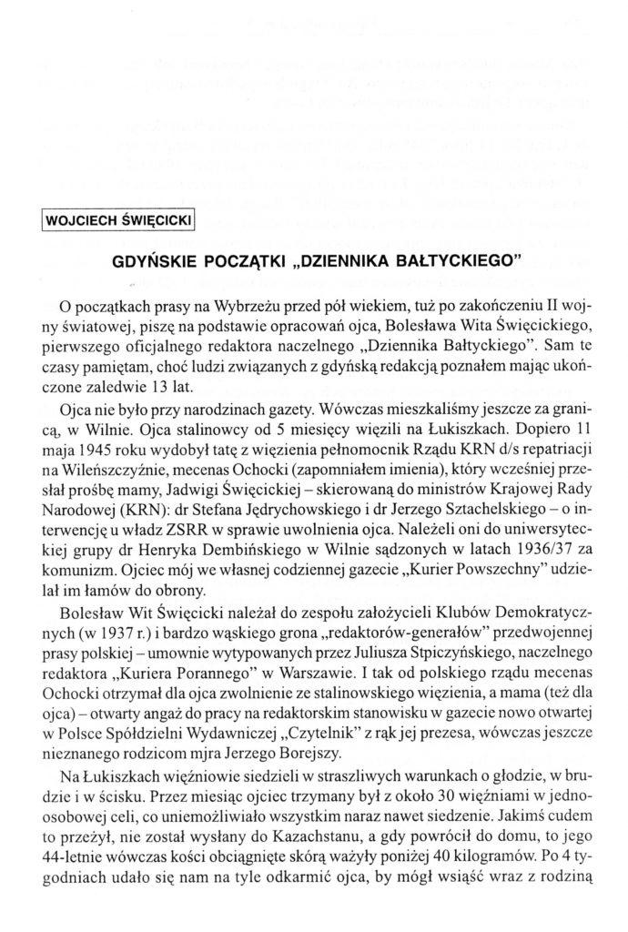 """Gdyńskie początki """"Dziennika Bałtyckiego"""""""