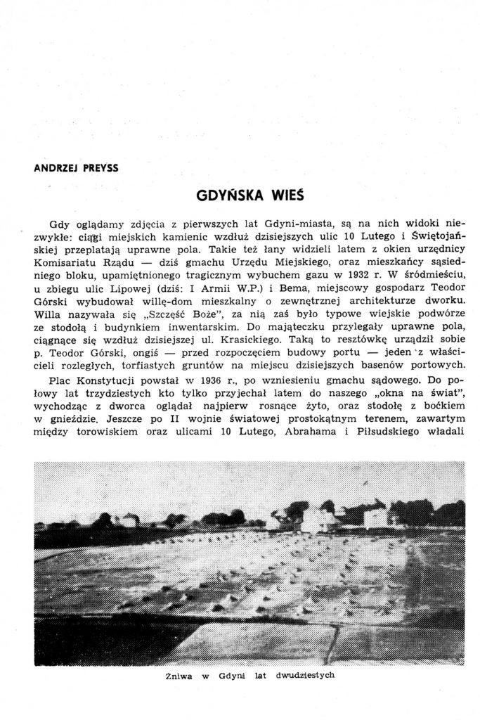Gdynska wieś