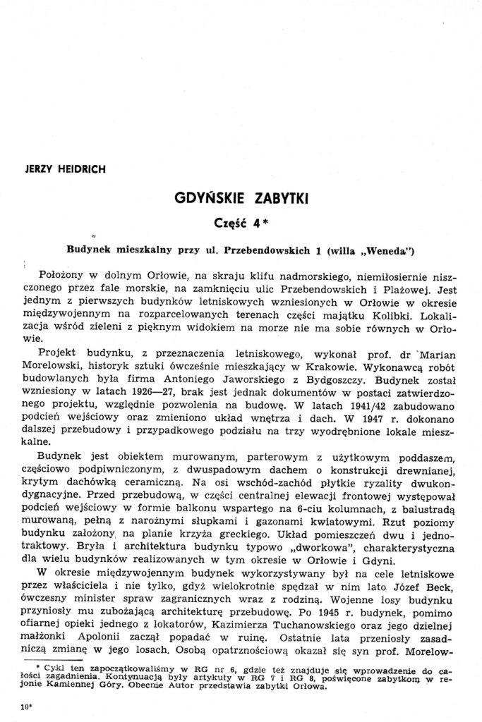 Gdyńskie zabytki: część 4