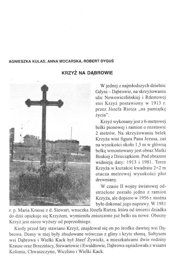 Krzyż na Dąbrowie