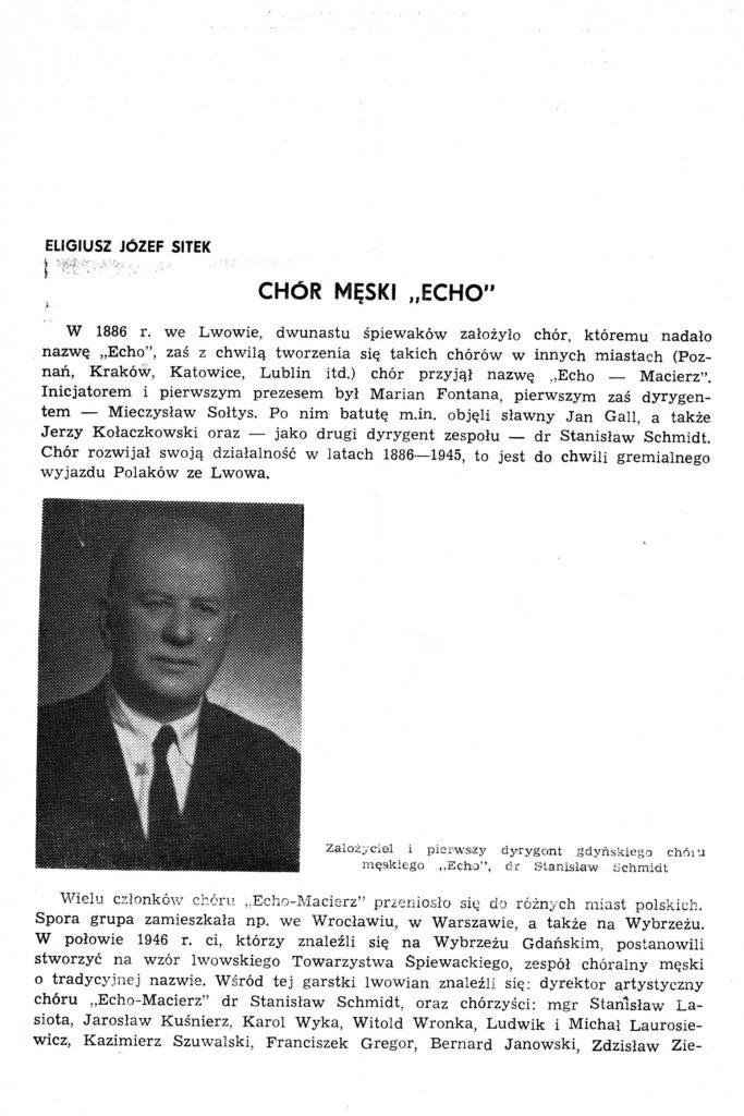 """Chór Męski """"Echo"""""""